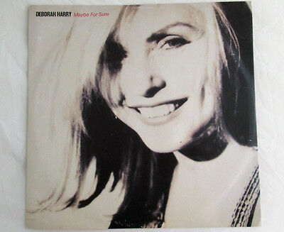 "Deborah Harry - Maybe For Sure 12"" 45rpm Vinyl Single Picture Sleeve 1990"