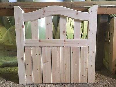 Wooden Garden Gate Cottage Style **FREE DELIVERY**