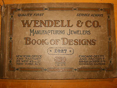 Wendell & Co. Jewelers Book Of Designs 1927