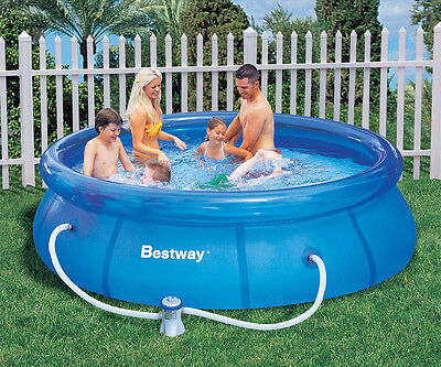 12ft Bestway Fast Set Pool with Pump