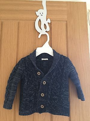 Baby boy's Cable Knit Cardigan, NEXT 3 - 6 months