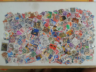 GROS LOT AM3 - 9990 timbres environ, tous pays (450 grammes)