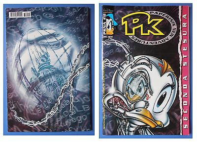 PKNA 12, Seconda stesura, Paperinik Pikappa PK New Adventures