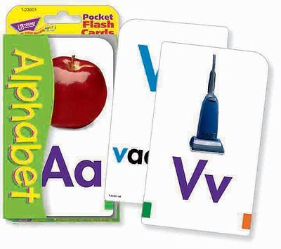 TREND kids childrens ABC Alphabet Pocket Flash Cards