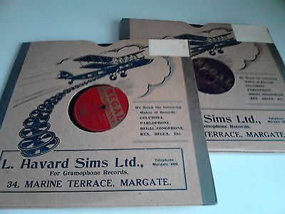 10. 78 rpm records new/unplayed from the 1930's/40'