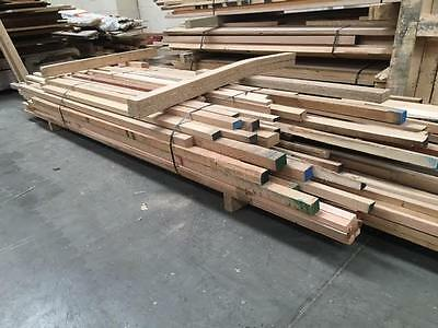 Solid Mixed Hardwood Offcuts Job Lot - Mainly American Oak/Ash