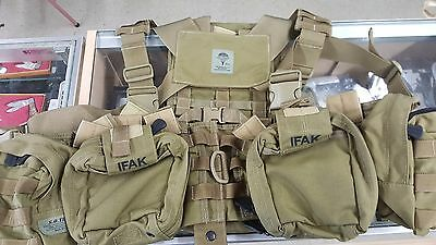 S.o. Tech Tactical Medical Assault Chest Rig Harness System W/pouches Pj Sf Sof