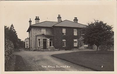 Slingsby Hall, Country House, Slingsby, Yorkshire. Rp, C1920.