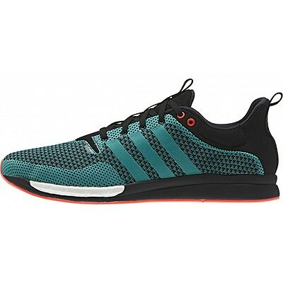 Adidas Adizero Feather Boost Men's Trainers Shoes S79279 - Black/Green