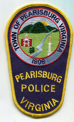 Pearisburg Virginia Police Patch