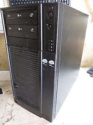 "Intel Server - 2x Intel Xeon E5430 2.66GHz 4GB Ram No HDDs 3.5"" Bays^"