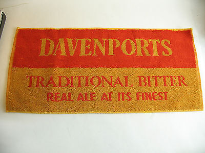 Davenports Traditional Bitter Real Ale at its finest towel mat