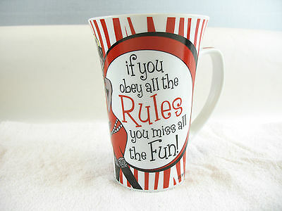 If you obey all the rules you miss all the fun! Coffee Mug Artiefartie