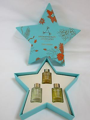 AROMATHERAPY ASSOCIATES 'STAR JEWELS'  Aromathery Bath & Shower Oil Collection