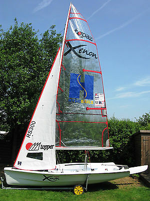 Superb Topper Xenon sailing dinghy with Combi - Late number