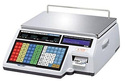 CAS CL5000B Label Printing Scale 60 lb x 0.02 lb / Wireless / with Wet Cover