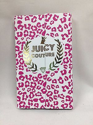 Juicy Couture Notebook Note Pad Post it Book 5 x 8.5 inch NEW #1487