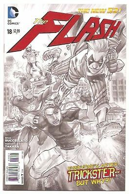 The Flash #18 Variant New 52 Sketch Black and White NM DC Comics Lot Rare