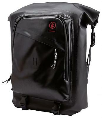 Volcom Mod Tech Dry Bag - Black - New With tags Surf Tarpaulin Wetsuit Backpack