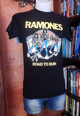T-Shirt RAMONES Road to Ruin Punk-Rock-Vintage-Used-Retro