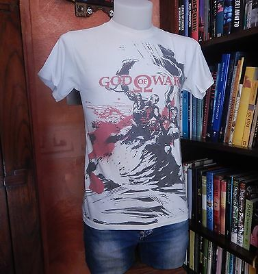 T-SHIRT Video Game GOD OF WAR Used-Vintage-Retro-Nerd