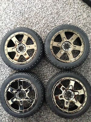 Kyosho inferno neo  rims and tyres 17mm hex any 1/8 nitro hyper losi