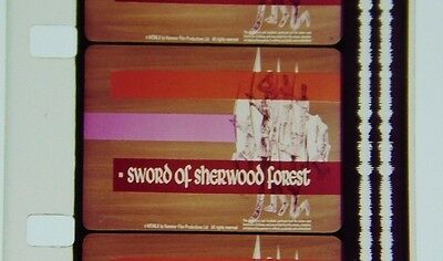 "16MM Feature Action Film:  ""Sword of Sherwood Forest"" (1960)  Richard Greene"