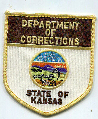 State of Kansas Department of Corrections Patch /// DOC /// Police