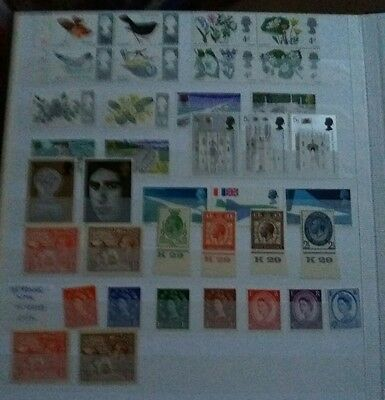 1924-1970 Great Britain Stamp Collection in Stockbook -  Job Lot