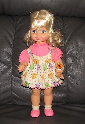 "Vintage Mattel Pull String Chatty Cathy ""Timey Tell"" Doll Original clothing"