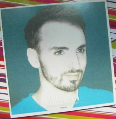 Christophe Willem - Cd Promo Si Mes Larmes Tombent Remixes (2Nd Cd)- Rare - Coll