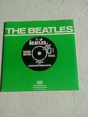 The Beatles 45 r.p.m. Yesterday /I Should Have Known Better