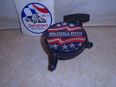 VINTAGE RACING GO KART McCULLOCH RECOIL PULL STARTER CHAIN SAW CART PART