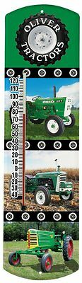 Heritage America by MORCO 375TOL Tractor-Oliver Outdoor or Indoor Thermometer, 2