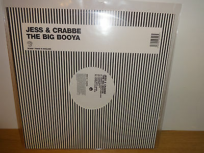 "Jess & Crabbe The Big Booya 12"" Vinyl Norman Cook Fatboy Slim"