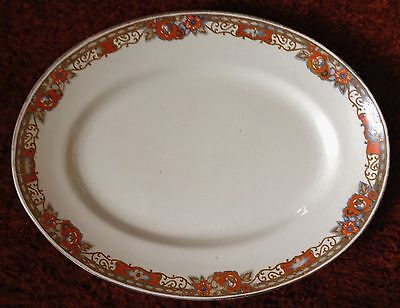 Vintage Royal Staffordshire Pottery.  Wilkinson Ltd. Large Platter. 'Stanley'.