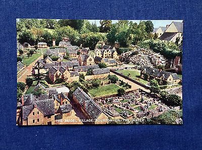 Vintage Postcard. The Model Village Bourton on the Water.