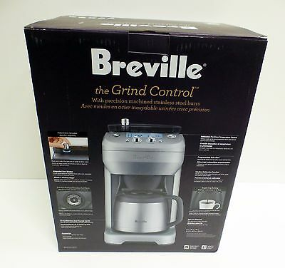 Breville The Grind Control BDC650BSS Drip Coffee Machine 12 Cup Thermal Carafe