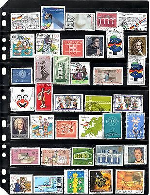 Europa Used Stamps (Item 0386)