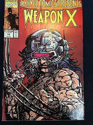 Marvel Comics Presents Weapon X #79