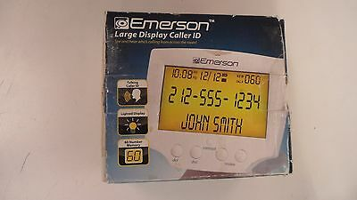 Emerson Large Display Talking Caller ID With 60 Numbers Memory