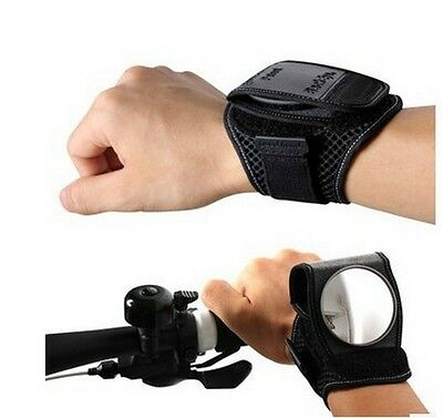 Bicycle Wrist Safety Cycling Rear View Mirror Handlebar Rearview Flexible