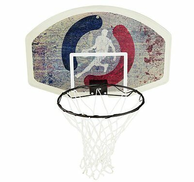 Basketball Board, Ring, and Net