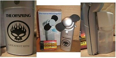 Offspring Greatest Hits RARE promo personal misting fan - NEW in BOX '05