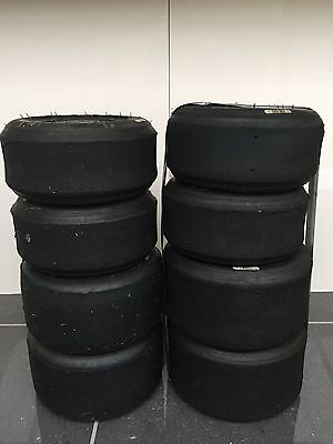 Cadet Go Kart - 2 sets of Dunlop Slick tyres