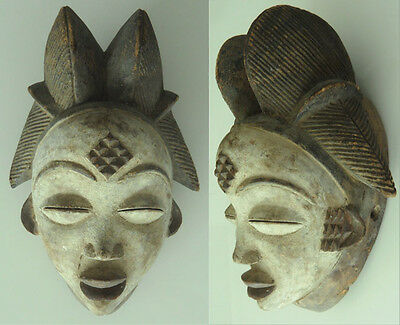 finest old Punu mask Gabon