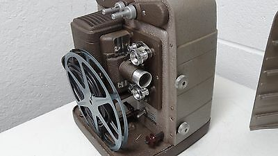Nice Vintage BELL & HOWELL 8MM Projector 253R Excellent Working Condition