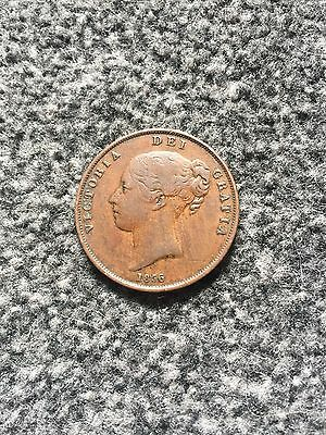 Victoria 1856 Penny Plain Trident Very Scarce  Two Day Offer ?