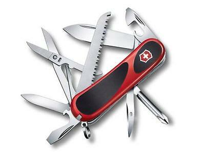 Victorinox Swiss Army Knife, EvoGrip 18 Red/Black, 2.4913.CUS2, New In Box