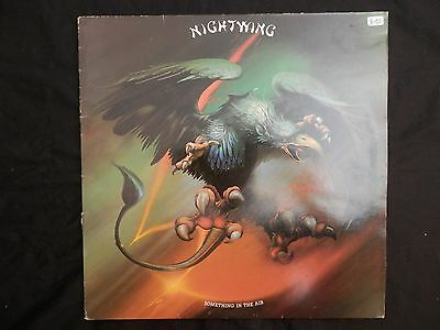 NightwIng Something In The Air LP Heavy Metal Hard Rock NWOBHM Iron Maiden